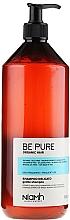Parfums et Produits cosmétiques Shampooing à l'extrait bio d'amande douce et bleuet - Niamh Hairconcept Be Pure Gentle Shampoo
