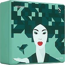 Parfums et Produits cosmétiques AlfaParf Holiday Kit Reconstruction - Coffret (shampooing/250ml + masque pour cheveux/200ml + cristaux liquides/15ml)