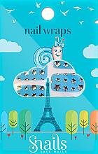 Parfums et Produits cosmétiques Stickers ongles - Snails Nail Wraps (10 pcs)