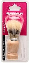 Parfums et Produits cosmétiques Blaireau de rasage avec manche en bois - Beter Beauty Care