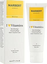 Parfums et Produits cosmétiques Crème à l'huile d'amande douce pour visage - Marbert I Love Vitamins Rich Vitamin Care