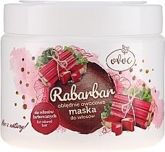Parfums et Produits cosmétiques Masque à l'extrait de rhubarbe et fruits pour cheveux - Ovoc Rabarbar Mask