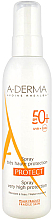 Parfums et Produits cosmétiques Spray solaire pour peaux fragiles - A-Derma Protect Spray Very High Protection SPF 50+