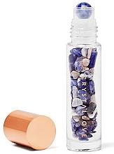Parfums et Produits cosmétiques Bouteille avec cristaux de sodalite pour huile essentielle (roll-on) - Crystallove