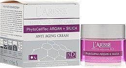 Parfums et Produits cosmétiques Crème de jour et nuit aux cellules souches d'argan et silicium - Ava Laboratorium L'Arisse 5D Anti-Wrinkle Cream Stem Cells & Silica