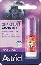 Parfums et Produits cosmétiques Baume à lèvres, Myrtille américaine - Astrid Lip Balm Bright Blueberry
