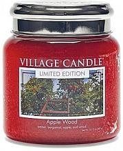 Parfums et Produits cosmétiques Bougie parfumée en jarre Pommier - Village Candle Apple Wood