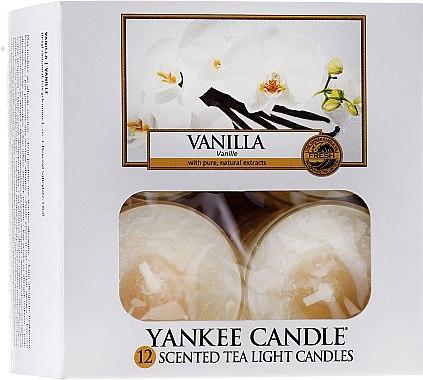 Bougies chauffe-plats parfumées Vanille - Yankee Candle Scented Tea Light Candles Vanilla — Photo N1