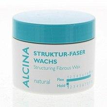 Parfums et Produits cosmétiques Cire de fibre coiffante - Alcina Natural Struktur Faser Wachs