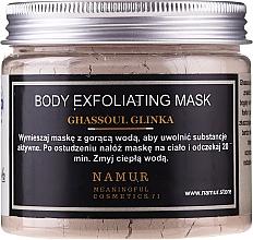 Parfums et Produits cosmétiques Masque exfoliant à l'argile Rhassoul pour corps - Namur Body Exfoliating Ghassoul Clay