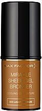 Parfums et Produits cosmétiques Bronzer en stick - Max Factor Miracle Sheer Gel Bronzer