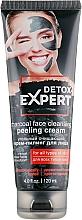 Parfums et Produits cosmétiques Crème exfoliante au charbon actif pour visage - Detox Expert Charcoal Face Cleansing Peeling Cream