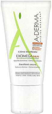 Crème émolliente pour visage et corps - A-Derma Exomega D.E.F.I Emollient Cream — Photo N1
