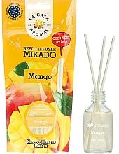 Parfums et Produits cosmétiques Bâtonnets parfumés, Mangue - La Casa de Los Aromas Mikado Reed Diffuser