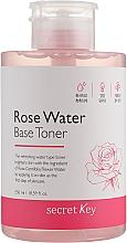 Parfums et Produits cosmétiques Lotion tonique à l'eau de rose - Secret Key Rose Water Base Toner