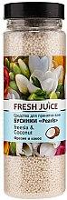 Parfums et Produits cosmétiques Perles de bain à la noix de coco et freesia - Fresh Juice Bath Bijou Rearls Freesia and Coconut