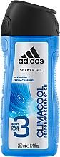 Parfums et Produits cosmétiques Gel douche pour visage, corps et cheveux - Adidas Climacool 3in1 Shower Gel Body&Hair&Face