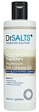 Parfums et Produits cosmétiques Gel douche et bain moussant au poivre noir et arnica - Dr Salts + Post Workout Therapy Magnesium Shower Gel