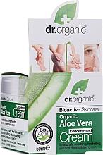 Parfums et Produits cosmétiques Crème concetrée à l'aloe vera pour visage - Dr.Organic Bioactive Skincare Aloe Vera Concentrated Cream