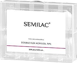 Parfums et Produits cosmétiques Faux ongles - Semilac Double Flex Acrylgel Dual Tips