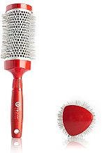 Parfums et Produits cosmétiques Brosse brushing thermique, 43 mm - Upgrade Triangular Concave Thermal Brush Red Angle