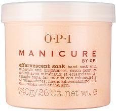 Parfums et Produits cosmétiques Poudre exfoliante aux minéraux pour manucure - O.P.I. Manicure Effervescent Soak