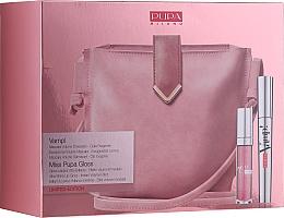 Parfums et Produits cosmétiques Coffret cadeau - Pupa Limited Edition (mascara/9ml + lip/gloss/5ml + bag)