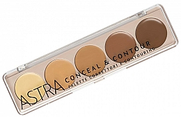 Parfums et Produits cosmétiques Palette de maquillage pour visage - Astra Palette Conceal&Contour Palette