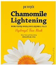 Parfums et Produits cosmétiques Masque hydrogel à la camomille pour visage - Petitfee&Koelf Chamomile Lightening Hydrogel Face Mask