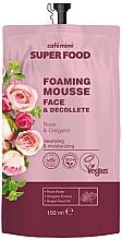 Parfums et Produits cosmétiques Crème-mousse à la rose pour visage et décolleté - Cafe Mimi Super Food