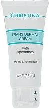 Parfums et Produits cosmétiques Crème aux liposomes et extrait d'aloe vera pour visage - Christina Trans dermal Cream with Liposomes