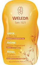 Parfums et Produits cosmétiques Masque régénérant à l'avoine pour cheveux - Weleda Hafer Aufbau-Kur Sachet