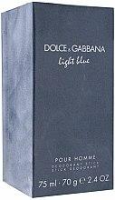 Parfums et Produits cosmétiques Dolce & Gabbana Light Blue Pour Homme - Déodorant stick parfumé