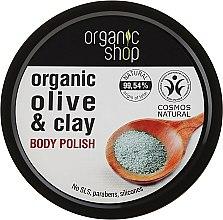 Parfums et Produits cosmétiques Gommage à l'argile et huile d'olive pour corps - Organic Shop Body Scrub Organic Olive & Clay