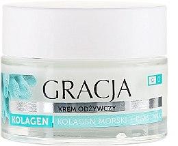 Parfums et Produits cosmétiques Crème de jour et nuit au collagène marin et élastine - Gracja Sea Collagen And Elastin Anti-Wrinkle Day/Night Cream