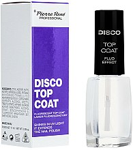 Parfums et Produits cosmétiques Top coat effet fluorescent - Pierre Rene Disco Top Coat Fluo Effect