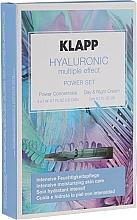 Parfums et Produits cosmétiques Coffret cadeau - Klapp Hyaluronic Multiple Effect Power Set (f/conc/3x2ml + f/cr/3ml)