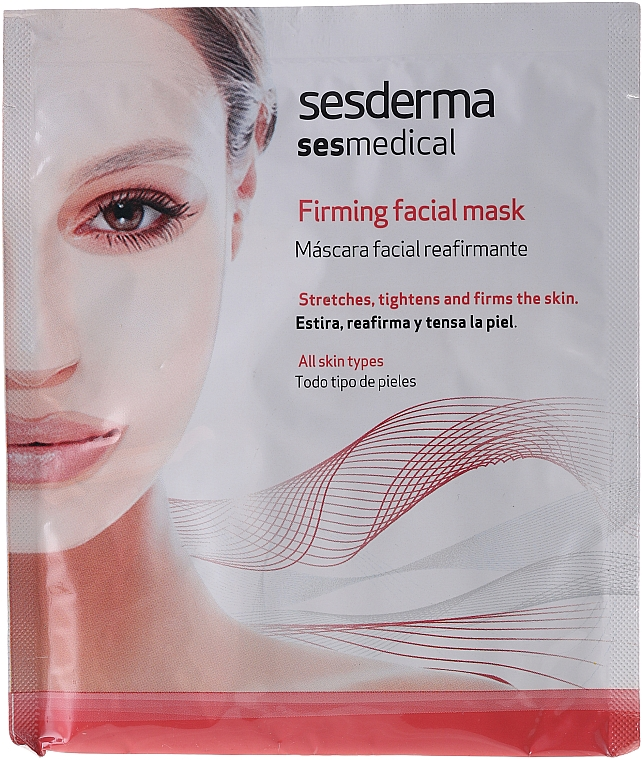 Masque en tissu raffermissant - SesDerma Laboratories Sesmedical Firming Face Mask — Photo N1