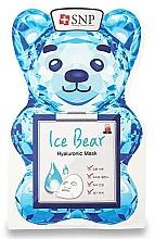 Parfums et Produits cosmétiques Masque tissu à l'acide hyaluronique pour visage - SNP Ice Bear Hyaluronic Mask