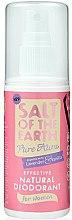 Parfums et Produits cosmétiques Déodorant spray naturel - Salt of the Earth Pure Aura Natural Deodorant Spray