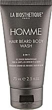 Parfums et Produits cosmétiques Gel douche pour corps, visage et barbe - La Biosthetique Homme Hair Beard Body Wash