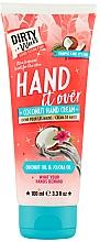 Parfums et Produits cosmétiques Crème à l'huile de noix de coco et de jojoba pour mains - Dirty Works Coconut Hand Cream