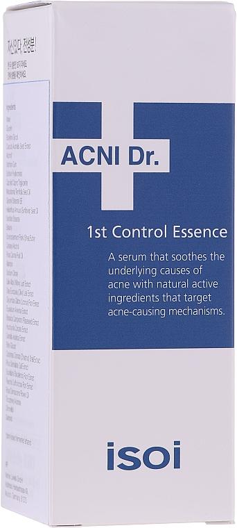 Sérum à l'acide hyaluronique pour visage - Isoi Acni Dr. 1st Oil Control Clearing Essence — Photo N2