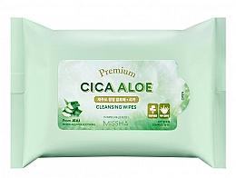 Parfums et Produits cosmétiques Lingettes nettoyantes - Premium Cica Aloe Cleansing Wipes