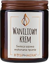 Parfums et Produits cosmétiques Bougie parfumée de soja, Crème vanille - Bosphaera Vanilla Cream Candle