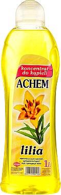 Concentré de bain, Lys - Achem Concentrated Bubble Bath Lily