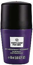 Parfums et Produits cosmétiques The Body Shop White Musk For Men - Déodorant roll-on anti-transpirant