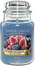 Parfums et Produits cosmétiques Bougie parfumée en jarre Figues et mûres gourmandes - Yankee Candle Mulberry and Fig Delight