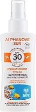 Parfums et Produits cosmétiques Spray solaire - Alphanova Sun Bio SPF30 Spray Voyage