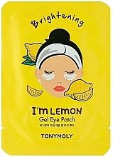 Parfums et Produits cosmétiques Patchs gel éclaircissants à l'extrait de citron pour contour des yeux - Tony Moly Refreshing Im Lemon Eye Mask